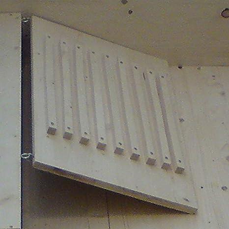 Rampa Escaleras para conejos cobaya Conejo con ganchos 60 x 40 cm ...