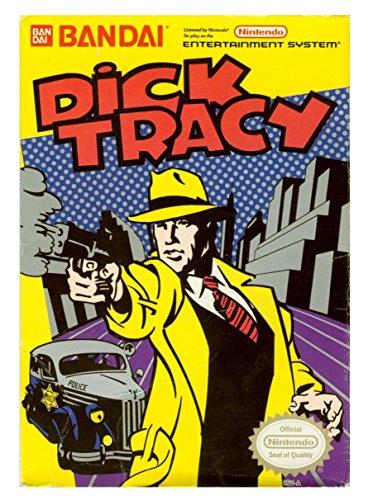 Dick Tracy - Nintendo NES (Bar Storage 4 Bargain)