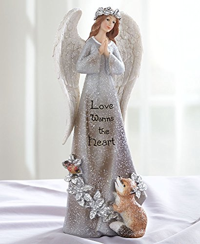 The Lakeside Collection Elegant Sentiment Angels - Love Warms ()