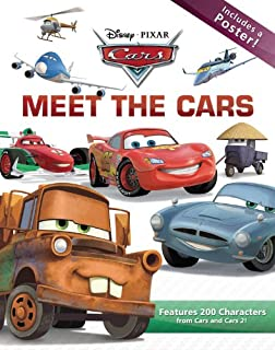 meet the cars disney pixar cars