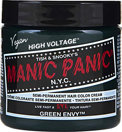 Manic Panic Green Envy Hair Dye