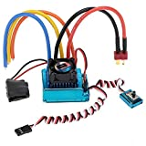 RC Car Speed Controller - SODIAL(R)120A Sensored Brushless Speed Controller ESC for RC 1/8 1/10 1/12 Car Crawler