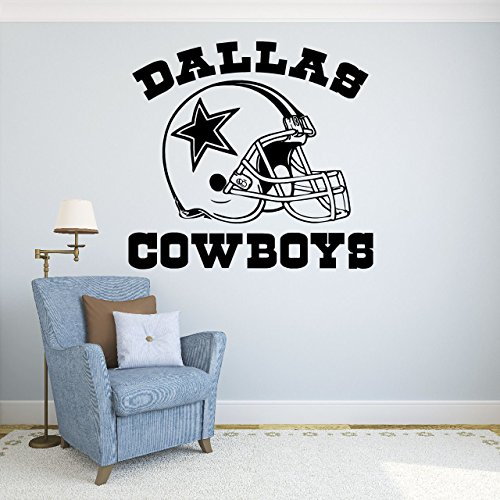Dallas Cowboys Vinyl Decal Sticker Wall Football Logo NFL Sport Home Interior Removable Decor (22