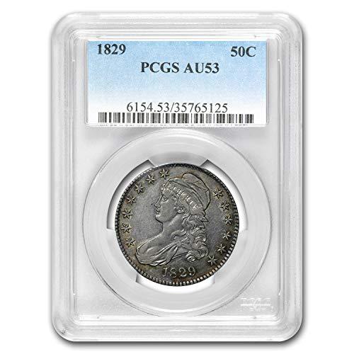 1829 Capped Bust Half Dollar AU-53 PCGS Half Dollar AU-53 PCGS
