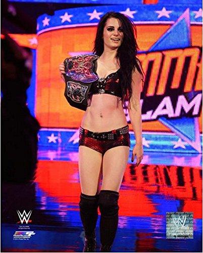 """Paige WWE 2014 Summer Slam Photo (Size: 8"""" x 10"""")"""