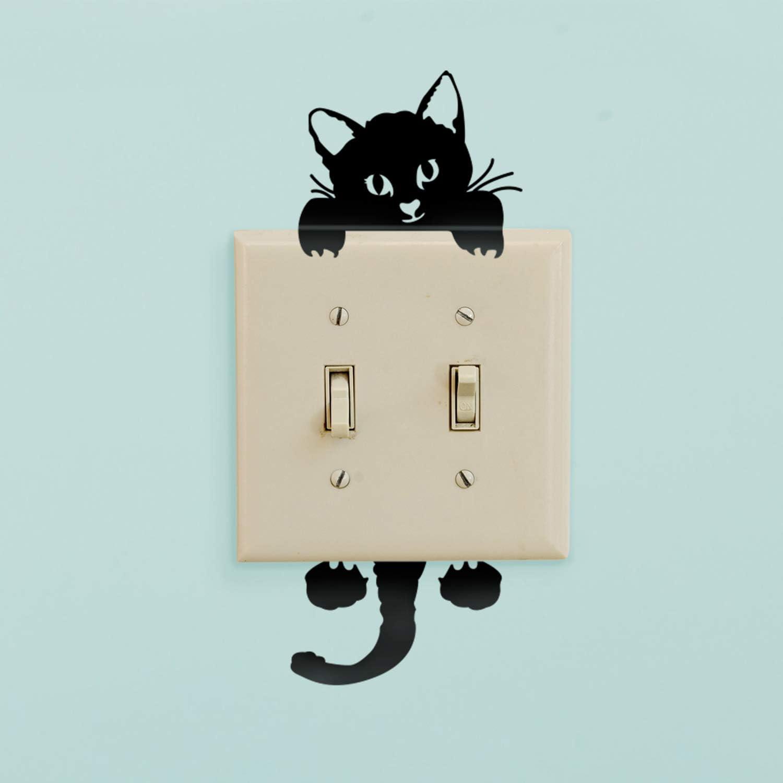 Vinyl Wall Art Decal - Kitty Cat - 8