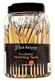 Jack Richeson 210563 69Piece Modeling Tool Canister Set,