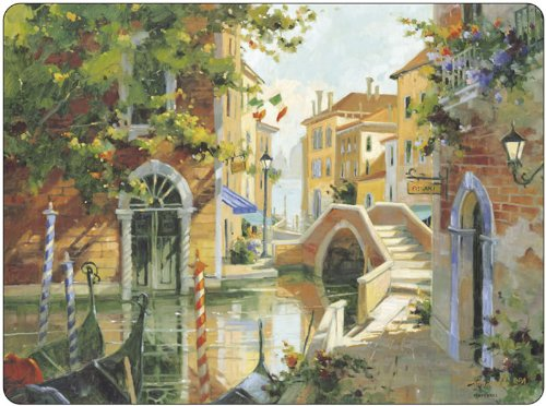 Pimpernel Venetian Scenes Placemats - Set of 4 (Large) (Venetian Scene)