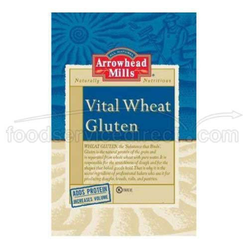 Arrowhead Mills, Gluten, Vital Wheat, 25 lbs (1 pack)