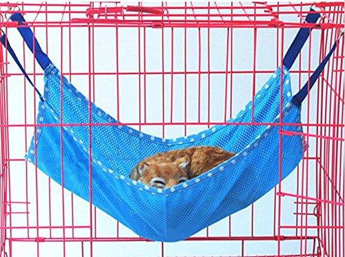 forniamo il meglio Znyo Coperta Coperta Coperta da Letto per Animali Domestici Tappetino per Lettino Amovibile per Lettino Traspirante Estivo per Piccoli Animali (Blu  la migliore offerta del negozio online