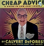 Cheap Advice, Calvert DeForest, 0446670820