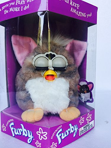 Furby Model 70-800 Blue/Gray with White Belly Electronic Furbie by Furby
