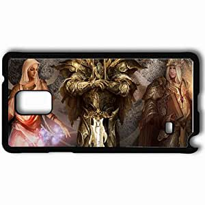 Personalized Samsung Note 4 Cell phone Case/Cover Skin 9 Empires Black