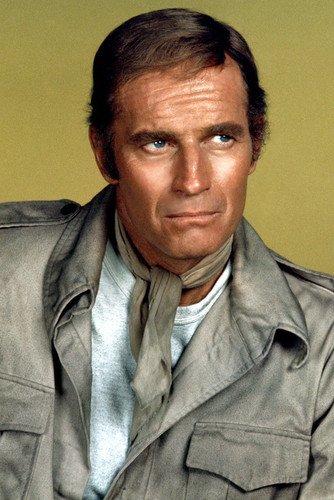 Charlton Heston Stunning Studio Portrait Soylent Green 24x36 (Soylent Green Poster)