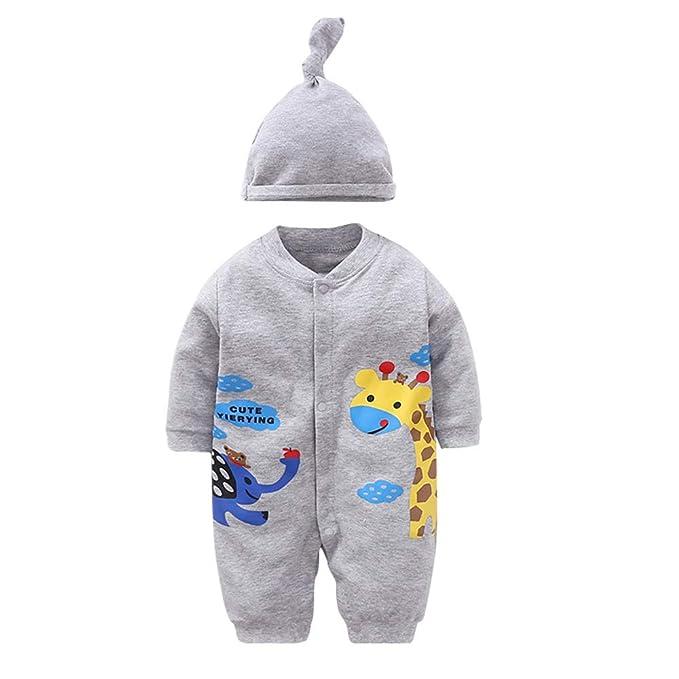 IEUUMLER Bebé Ropa Rompers Peleles Mameluco Jumpsuit con Capucha Cálido Monos para Niños Niñas IE033: Amazon.es: Ropa y accesorios