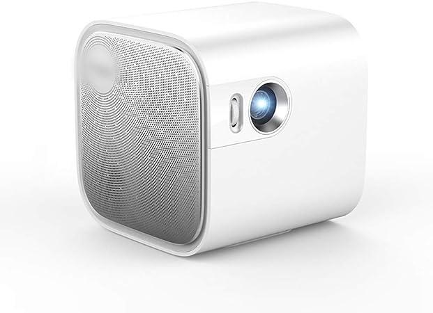 Proyector Inicio Dormitorio pequeño Smart HD Inalámbrico WiFi Home Theater No Pantalla TV Smartphone General Proyección de computadora Micro proyector Bluetooth: Amazon.es: Hogar