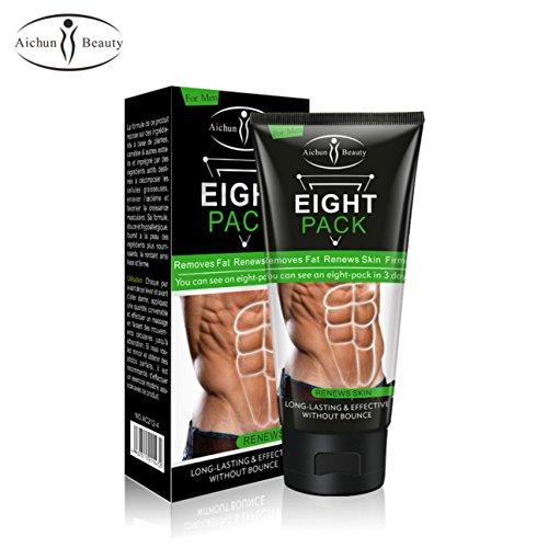AICHUN BEAUTY Men Women Abdominal Muscle Cream Anti Cellulite Slimming Fat Burning Cream for Good Figure 170g