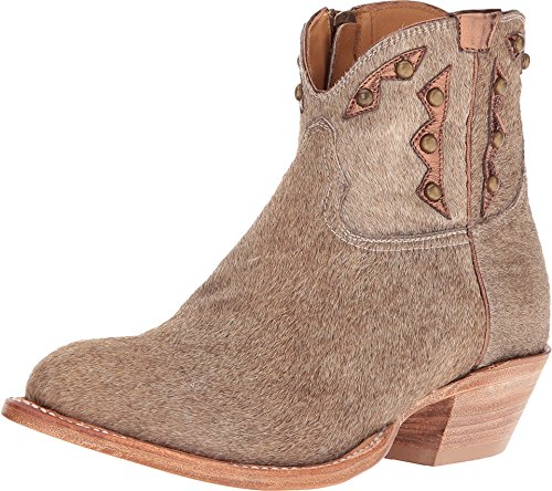 Lucchese Women's Demi Natural Hair on Calf Shoe - Lucchese Natural