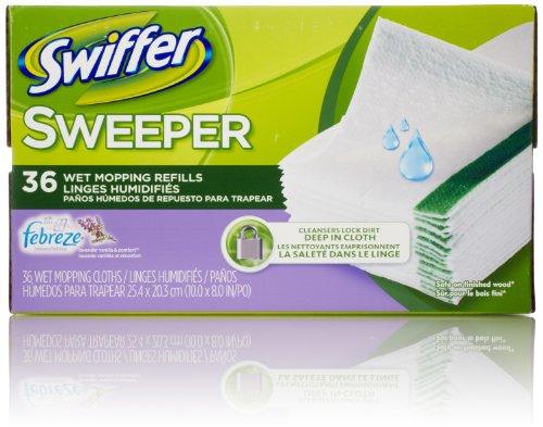 Swiffer Sweeper Wet Mop Pad Refills for Floor