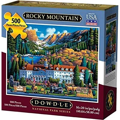 Dowdle Jigsaw Puzzle - Rocky Mountain National Park - 500 Piece: Toys & Games
