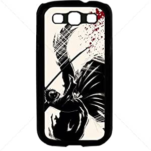 Bleach Manga Anime Comic For Samsung Galaxy S3 SIII I9300 TPU Case Cover (Black) by Maris's Diary
