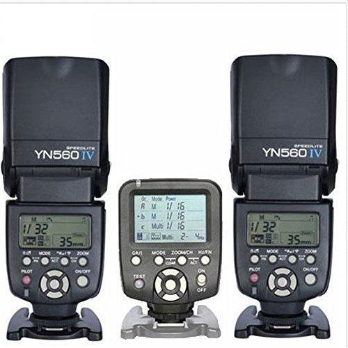 Yongnuo 2 X yn565exフラッシュスピードライト+ YONGNUO 1 x yn560tx LCDワイヤレスフラッシュコントローラfor Canon DSLRカメラ   B015FIT1MY