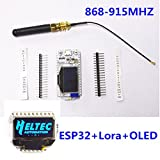 New!! ESP32 development board WIFI Bluetooth Lora Transceiver SX1278 868/915MHZ communication 2KM module for Arduino with 0.96inch OLED display