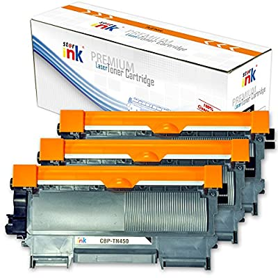 Starink Compatible Toner Cartridge Brother TN450 TN420 DR420 High Yield Drum Unit (1 Drum + 1 Toner) Replacement for Brother HL- 2270DW 2280DW 2230 2240 MFC- 7860DW 7360N DCP-7065DN Printers