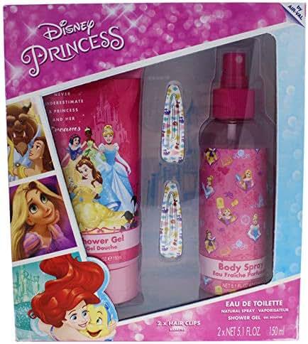 Disney Princess Gift Set for Kids, 3 Count
