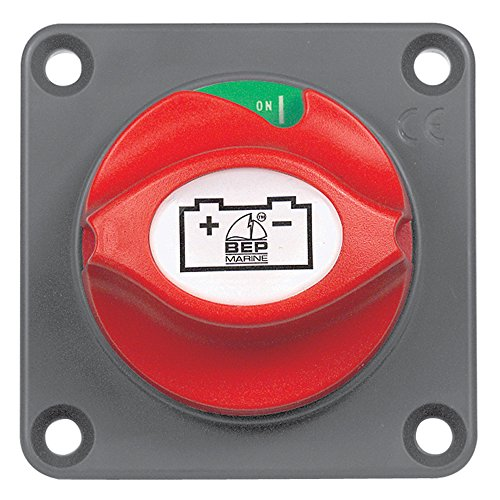 BEP 701-PM Battery Switches - Panel Mount On-Off (Recess Panel Storage)