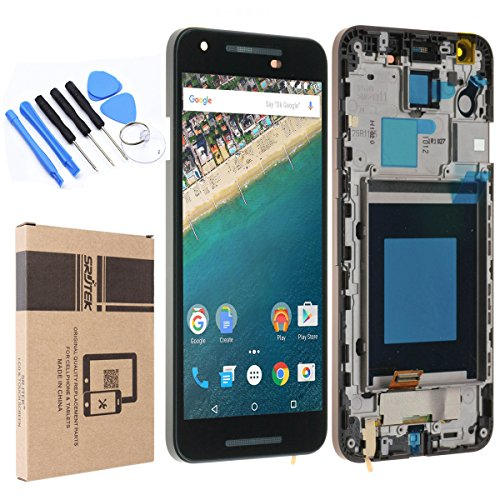 for LG Nexus 5X Screen Replacement,LCD Display Screen and Touch Screen Digitizer for H791 H790 SRJTEK Repair Parts (Lg Nexus 5 Accessories)