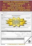 J.J. Keller 47999 (19-MP) Medical Exam Report, Certificate & Registry - Pack of 25