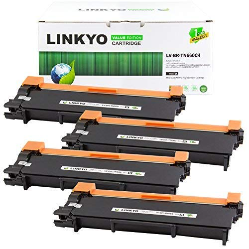 LINKYO Compatible Toner Cartridge Replacement for Brother TN