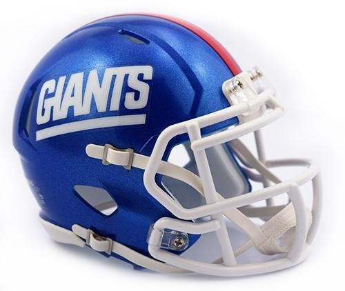 New York Giants Retro 1981-99 Color Rush Riddell Speed Mini Football Helmet]()