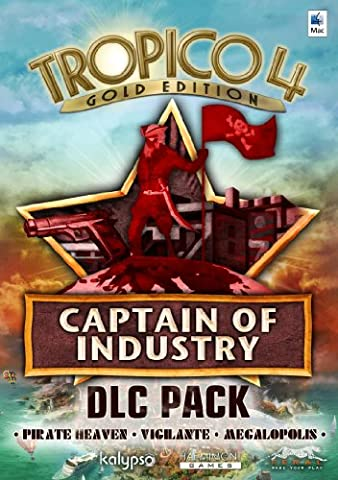 Tropico 4: Captain of Industry DLC Pack [Online Game Code] (Turn Concrete Into Gold)