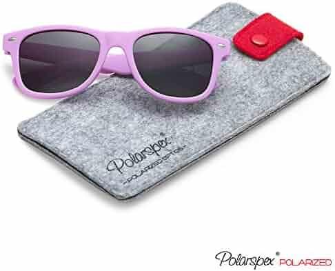 cb479832560 Polarspex Kids Children Boys and Girls Super Comfortable Polarized  Sunglasses