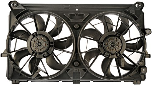 Cadillac Radiator Fan - Dorman 620-654 Dual Fan Assembly for Cadillac/Chevrolet/GMC