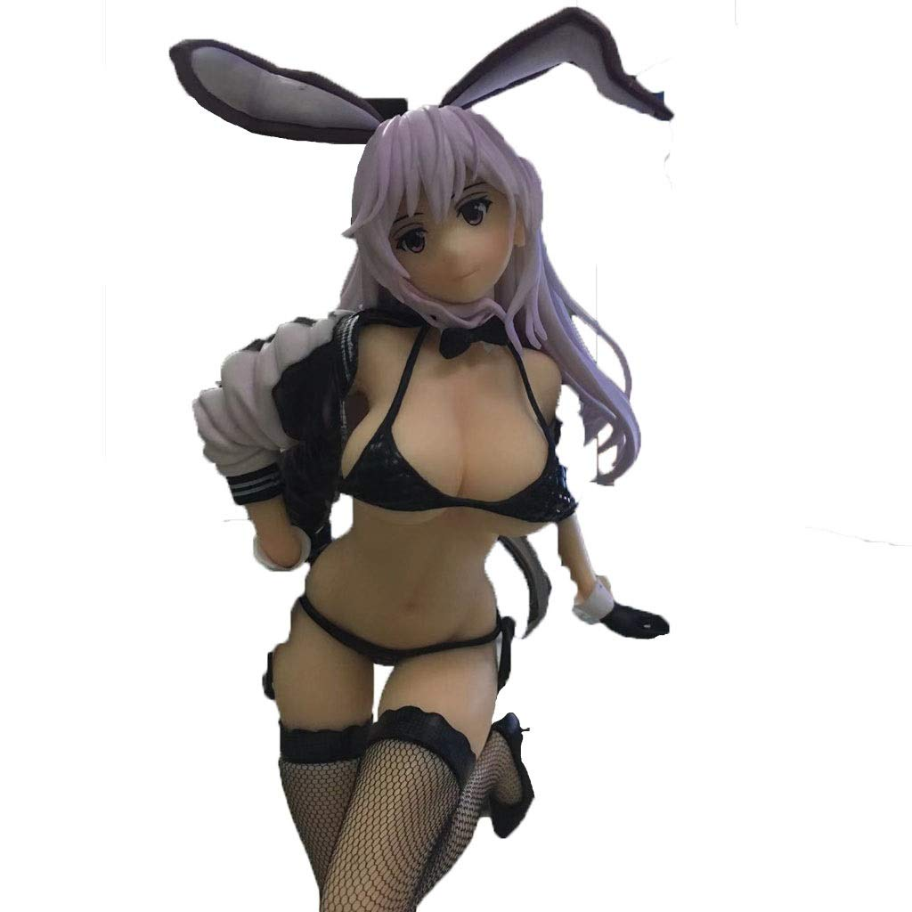 LLDDP Anime Model Anime Statue Bunny Anime Model Girl Charm PVC Figure (Shirt Version) Adult Children's Toys