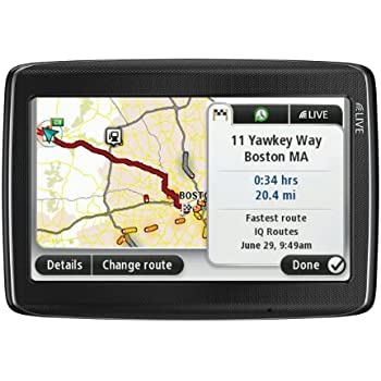TomTom GO LIVE 1535M 5-Inch Bluetooth GPS Navigator with HD Traffic, Lifetime Maps, and Voice Recognition(Discontinued by Manufacturer)
