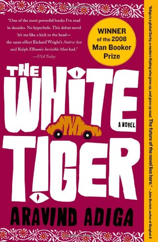 Book cover for The White Tiger