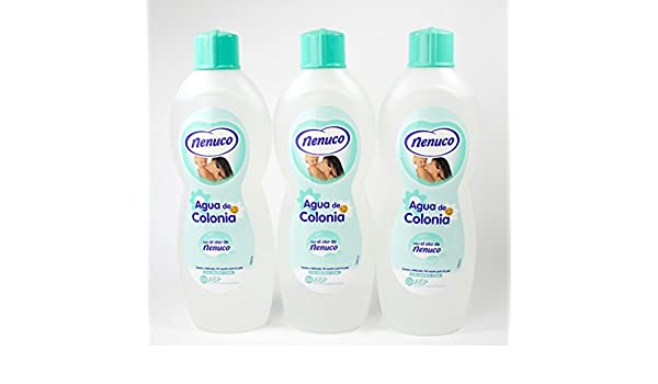 3 Nenuco Baby Cologne/agua De Colonia 20oz./600ml by NENUCO: Amazon.es: Salud y cuidado personal