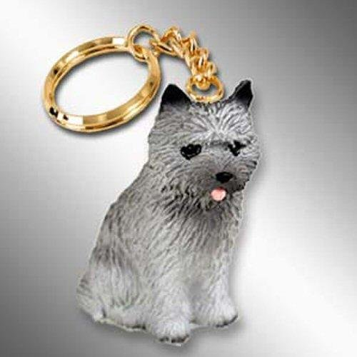 Cairn Terrier, Gray Tiny Ones Dog Keychains (2 1/2 in)