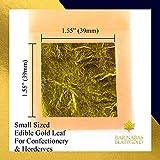 Genuine Edible Gold Leaf - 12 Sheets - Barnabas