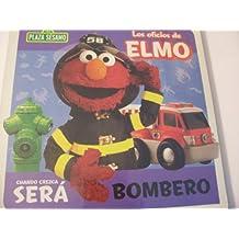 Plaza Sesamo Los Oficios de Elmo Libro del Rompecabezas ~ Bombero (Puzzle Book) by Sesame Street
