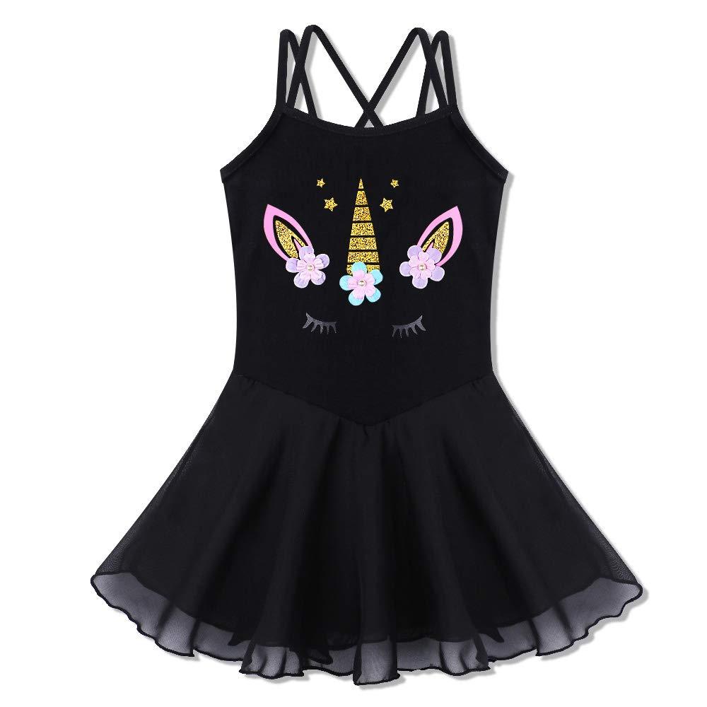 111a2f3148aa Amazon.com  BAOHULU Girl s Skirted Leotards Camisole Cartoon Ballet ...