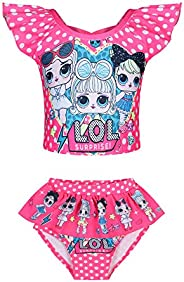 SimpleKids Surprise Doll Little Princess Girls Pajamas Toddler Nightgown Sleepwear Nightie Nightdress for Kids