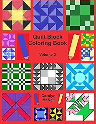 Quilt Block Coloring Book