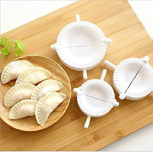 3pcs Press Ravioli Dough Pastry Pie Dumpling Maker Gyoza Empanada Mold Mould Tool