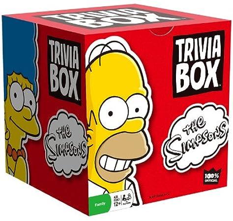 Trivia Box - The Simpsons: Amazon.es: Bebé