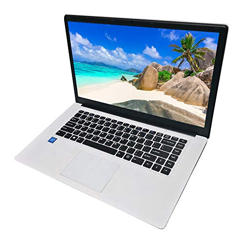 15.6 inch Laptop Computer PC Notebook, Intel CPU 4GB RAM 64GB Storage Compatible with Windows 10 Home OS, WiFi HDMI BT4…
